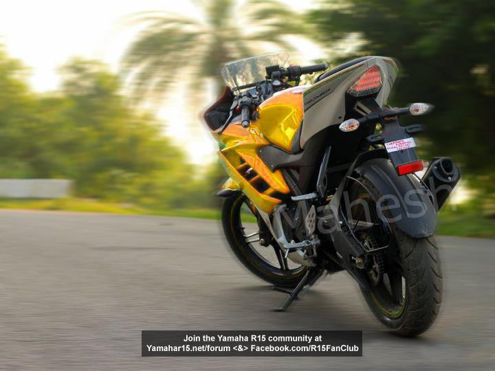 Yamaha YZF R15 Price GST Rates Images   BikeWale